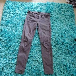 women's Vince gray riley legging jeans sz 27